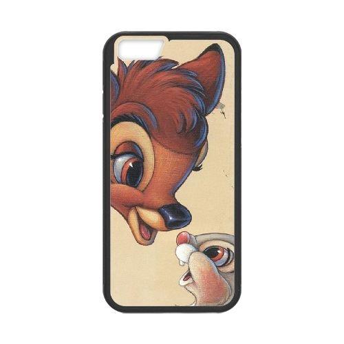 Bambi coque iPhone 6 4.7 Inch Housse téléphone Noir de couverture de cas coque EBDOBCKCO10562