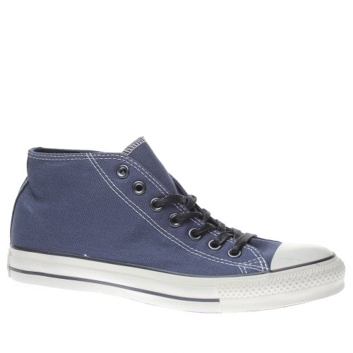 Converse All Star Clean Mid Canvas D [6,5 US - 39,5 IT] Blue Uomo - Unisex Mode Sch