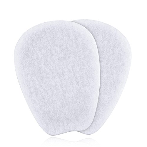 7 Pairs of Felt Tongue Pads Cushion for Shoes, Size Extra Large