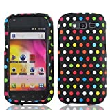 galaxy blaze cover - Bundle Accessory for T-mobil Samsung Galaxy S Blaze 4g T769 - Rainbow Dots Designer Hard Case Protector Cover + Lf Stylus Pen