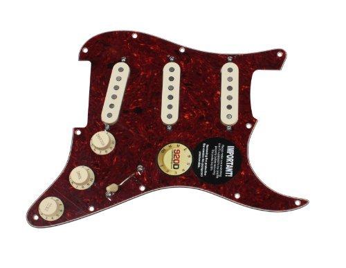 Fender Stratocaster Strat Loaded Pickguard DiMarzio Area 58, 67, 61 TO/AW from DiMarzio