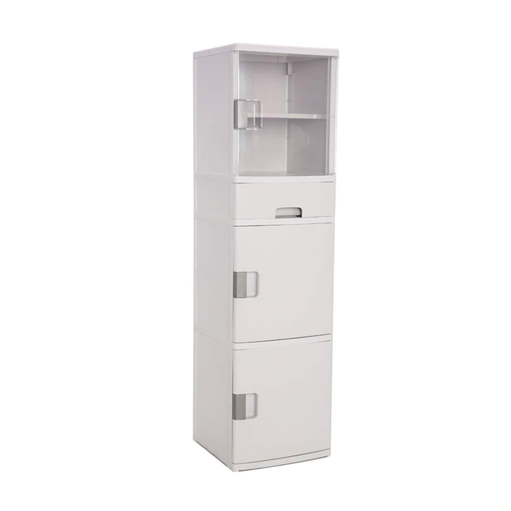 Zzg-2 Kitchen Storage Box, Baby Drawer Type Multi-Layer Plastic Storage Box Books Drug Finishing Cabinet, 3838139CM (Color : A)