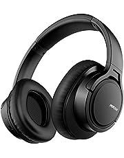 [Verbesserte]Mpow H7 Bluetooth Kopfhörer over Ear, over Ear Kopfhörer mit Kräftigen Bass-Sound, 18 Stunden Spielzeit, Memory-Protein Ohrpolster, CVC6.0 Mikrofon Freisprechen für Smartphone/PC, Blau
