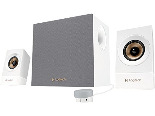Logitech Z533 Conjunto de Altavoces 2.1 Canales 60 W Blanco - Set de Altavoces (2.1 Canales, 60 W, Universal, Blanco, 120 W, 55-20000 Hz)