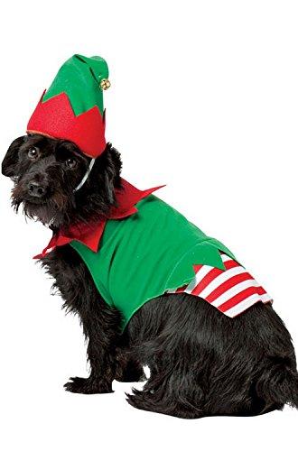 Rasta Imposta Elf Dog Costume, X-Large