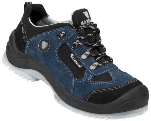 Maxguard Elwood Sicherheitsshalbschuh S1P EN ISO 20345 schwarz blau   46