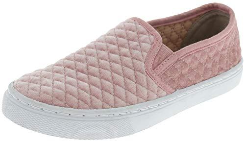 Capelli New York Girks Slip On Sneaker Quilted Velvet Design