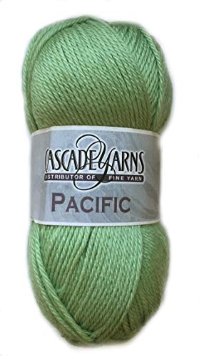 - Cascade Yarns - Cascade Pacific Worsted Yarn Spring Green #16
