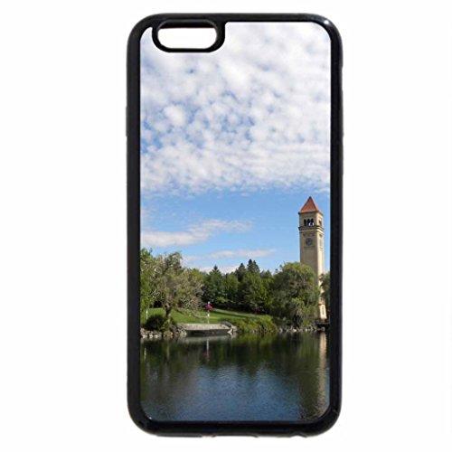 iPhone 6S / iPhone 6 Case (Black) Spokane River