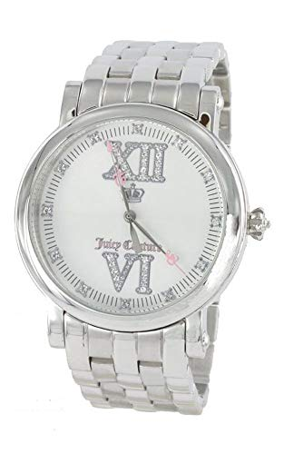 - Juicy Couture Stainless Steel Analog Silver Dial Women's Watch Quartz 1900605