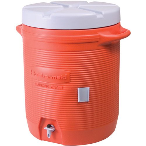 RUBBERMAID HOME PRODUCTS - WATER COOLER ORANGE 10GAL #11624 - 325-1610-01-11 by Rubbermaid