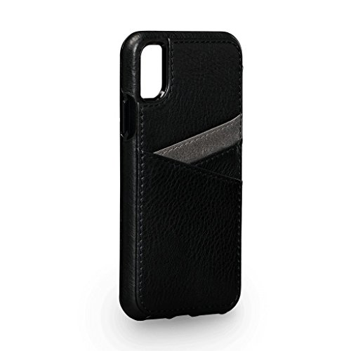 Sena Bence Lugano Wallet Leather Cell Phone Case For Iphone X Xs - Black ab683b3ce7767