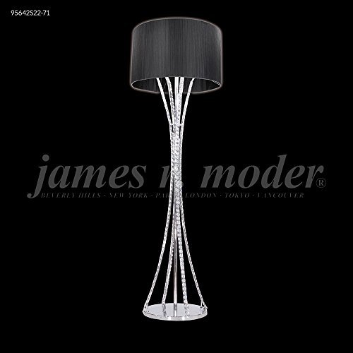 James R Moder 95642S00-76 Eclipse Collection Silver Chandelier