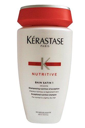 Kerastase Nutritive Bain Satin Nutrition 1 Shampoo 8.5 - Shampoo Nutrition Satin Bain 1