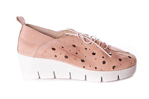 Femme Beige De Chaussures Pour À Aback Ville Lacets aYUqnPw