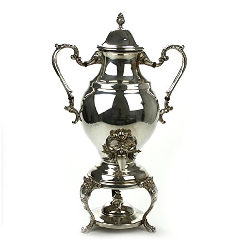 Coffee Urn by F. B. Rogers, Silverplate, Scroll Design for sale  Delivered anywhere in USA