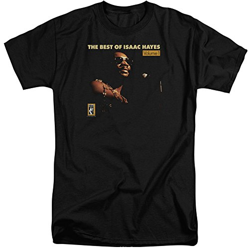 Sons of Gotham Isaac Hayes Chain Vest Men's Tall Fit T-Shirt XL Black (Best Of Isaac Hayes Xl)