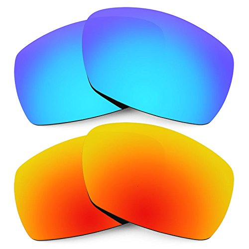 Revant Replacement Lenses for Smith Dockside 2 Pair Combo Pack ()