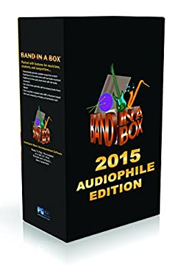 PG Music Band-In-A-Box 2015 Audiophile Edition