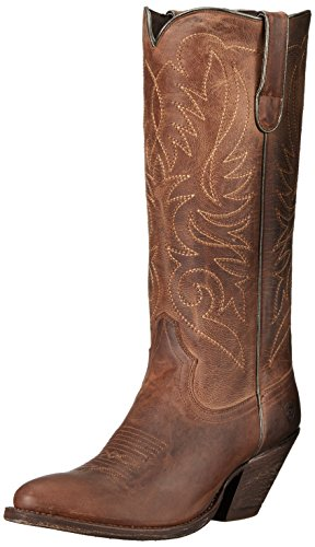 Ariat Women's Shindig Work Boot, Weathered Tan, 7 B US by Ariat