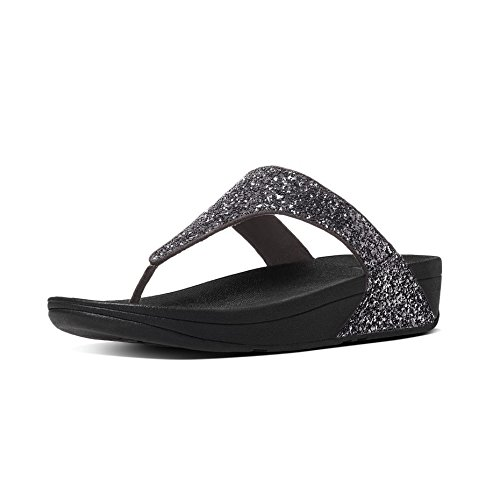 Post Femme Glitterball FitFlop Sandales T pour 054 Pewter Gris Strap a5xwwRTA