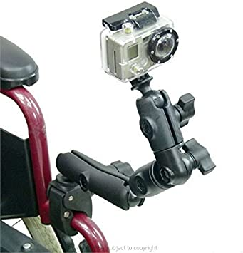 Newest Pivot Arm Vertical Mount for HD GoPro Hero 4//3+//3//2//1 Joint Base Camera Parts