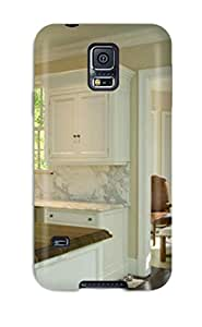 Excellent Galaxy S5 Case Tpu Cover Back Skin Protector Neutral Dining Area And Kitchen With White Marble Backsplash