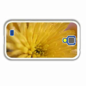 Customise Samsung Galaxy Cases S4 3D The Little Mermaid Macro Chrysanthemum Petals Color Bright Of Beautiful Present White Cellphone Skin For Lady
