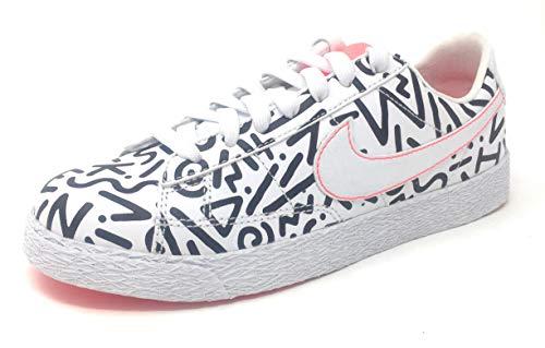 Nike Dualtone Racer QS (GS) White/White/Black