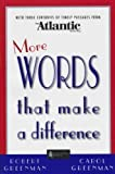 More Words That Make a Difference, Robert Greenman and Carol Greenman, 1929154283