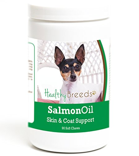 Healthy Breeds Clean Salmon Oil Soft Chews for Dogs for Toy Fox Terrier - Over 200 Breeds - Omega 3 & 6 EPA DHA Fatty Acid Support - Easier Than Capsules & Pumps - 90 Chews by Healthy Breeds (Image #4)