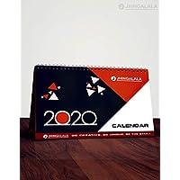 Table Calendar | Desk Calendar | ALDIVO Desk Calendar | Table Calendar and Planner (Black)