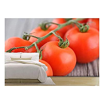 That You Will Love, Wonderful Work of Art, Tomatos on Old Wood Background Healthy and Tasty Food