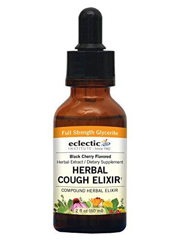 - Eclectic Herbal Cough Elixir G, Orange, 2 Fluid Ounce