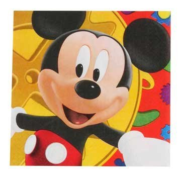 Mickey Mouse Costume Party City (Mickey Mouse Clubhouse Napkins (L))