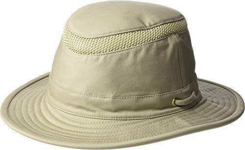 - Tilley T5MO Organic Cotton Airflo Hat, Khaki With Olive Underbrim, 7 1/4