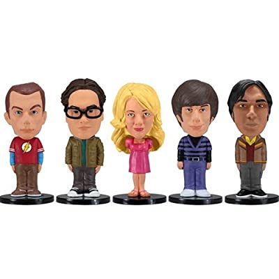 Funko Big Bang Theory: Mini Wacky Wobbler Set, 5 Pieces: Toys & Games