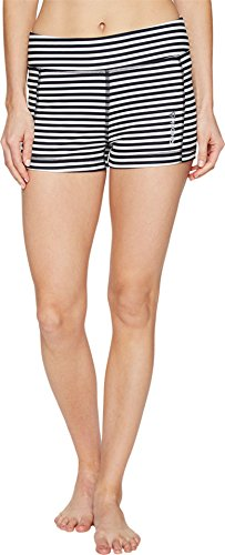 Reebok Women's Yoga Hot Shorts Chalk (Reebok Elastic Waist Shorts)