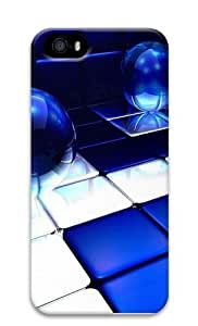 Blue Expanse PC Case Cover for iPhone 5 and iPhone 5s 3D