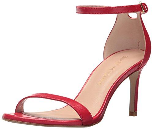Image of Stuart Weitzman Women's NUNAKEDSTRAIGHT Heeled Sandal