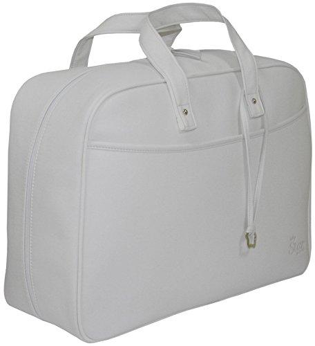 Garessi M12-23, Bolso-maleta de maternidad, Azul Marino Gris