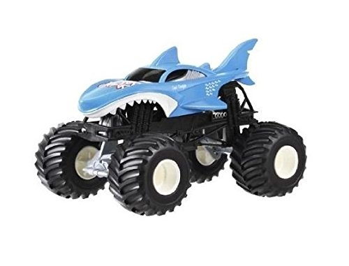 Hot Wheels Monster Jam 1 24 Scale Shark Buy Online In Bahamas At Desertcart