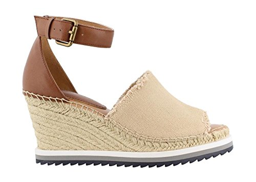 (Tommy Hilfiger Women's, Yavino Wedge Sandals Natural 8.5 M)