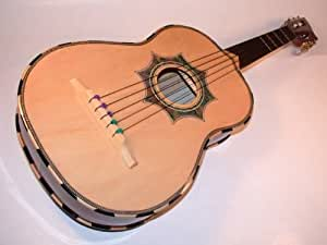 barraza vihuela acoustic guitar mariachi mexican musical instruments. Black Bedroom Furniture Sets. Home Design Ideas
