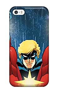Fashionable Style Case Cover Skin For Iphone 5/5s- Captain Marvel 1237903K43428049