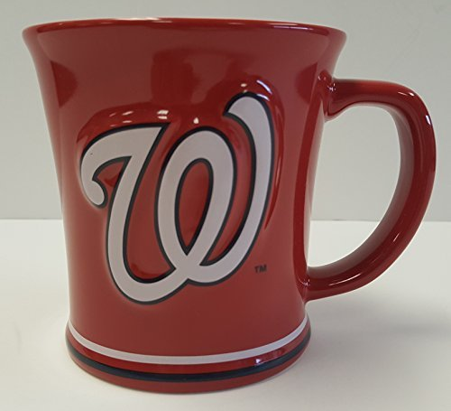 Washington Nationals 15 oz Sculpted Ceramic Coffee Mug