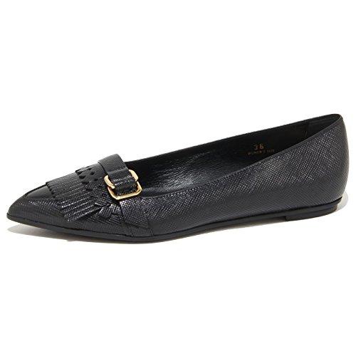 Anelli Ballerine Women Ballerina Nero Tod's Shoes Donna 9227n Frange XtAwp