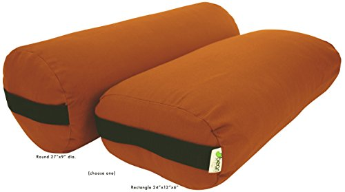 Bean Products Yoga Bolster - 100% Organic Rectangle - Sweet - Sweet Rectangular