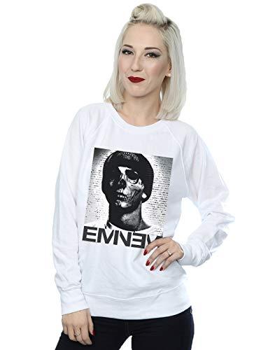 Entrenamiento Mujer Face Blanco De Absolute Eminem Skull Cult Camisa 0q1BwB