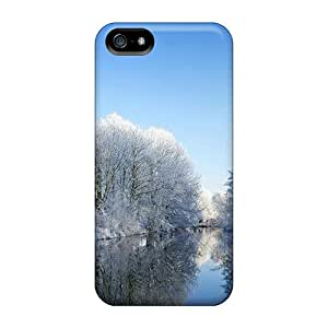 Pretty PegJw-8652 Iphone 5/5s Case Cover/ One Day In Winter Series High Quality Case